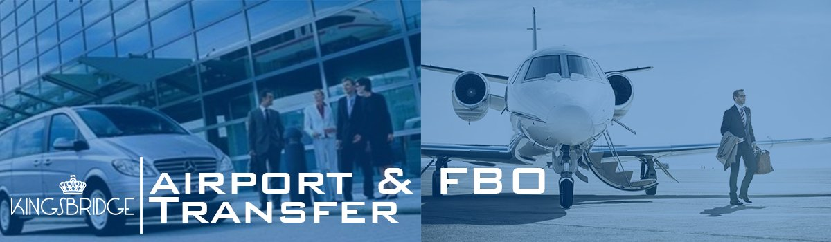Kingsbridge Chauffeur Airport and FBO Transfer