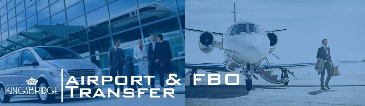 Kingsbridge Chauffeur Airport and FBO Transfer